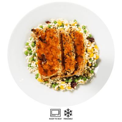 turkey meatloaf with couscous